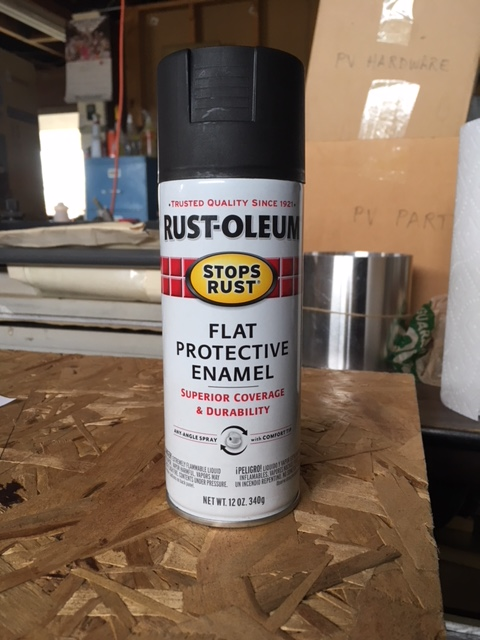 Flat black paint, 031418.jpg
