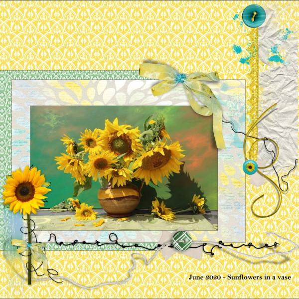 June 2020 - Sunflowers in a vase.jpg