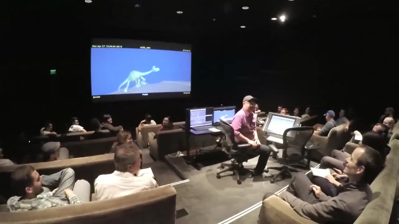 Pixar Post - The Good Dinosaur Animation Daily Meeting.jpg