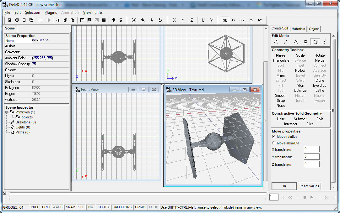 Tie Fighter Model - Screenshot.png