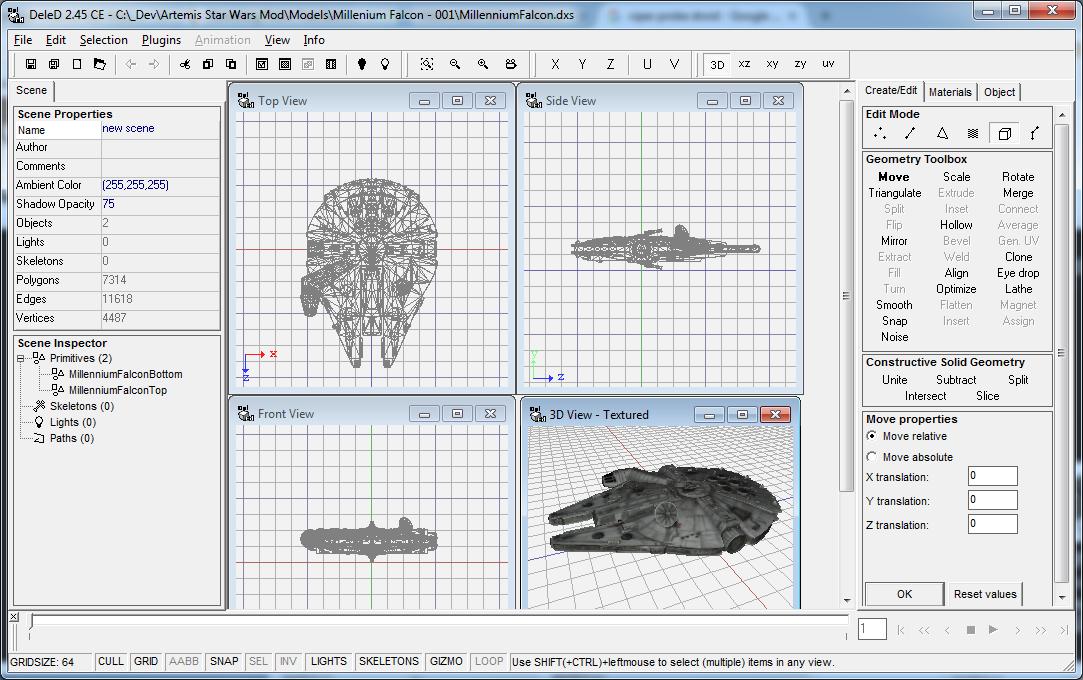 Millennium Falcon - Screenshot.png