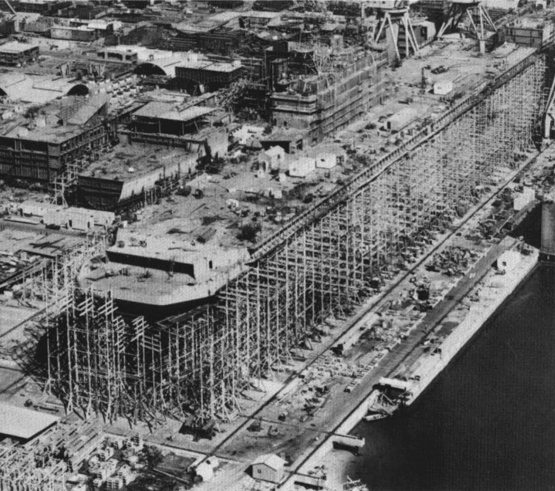 USS_Tarawa_(LHA-1)_under_construction_c1973.jpg