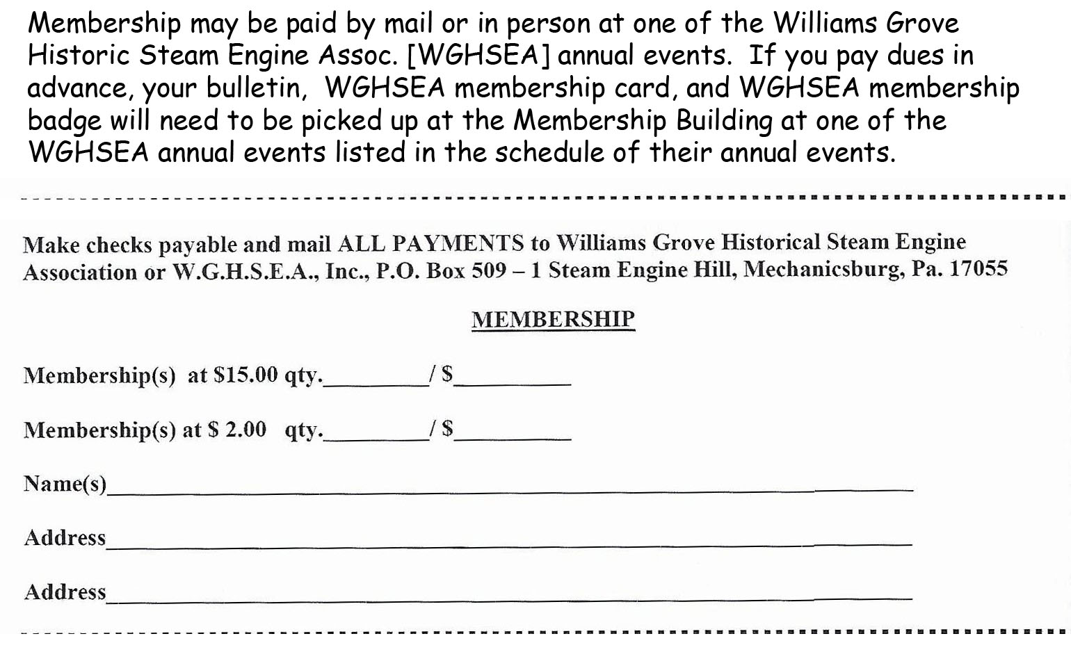 aa - Williams Grove Steamshow Assoc Membership form.jpg