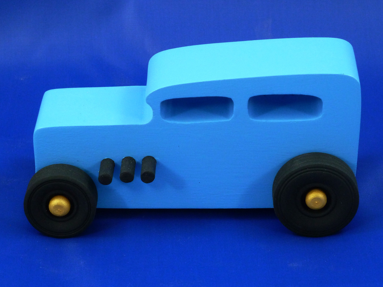 20170104-161845 1932 Ford Sedan - Blue - Wood Toy Car - Hot Rod - Classic - 32 Sedan - Street Rod - Speedster - Freaky Ford - MDF - Painted.jpg