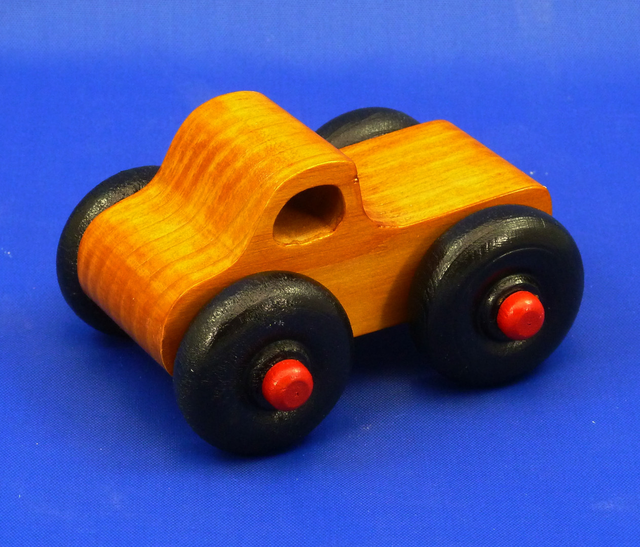 20170104-180546 Monster Truck - Wooden Toy Truck - Toy Truck - Wooden Truck - Play Pal - Pickup - Handmade - Handcrafted - Wood Truck - Wood Toy.jpg