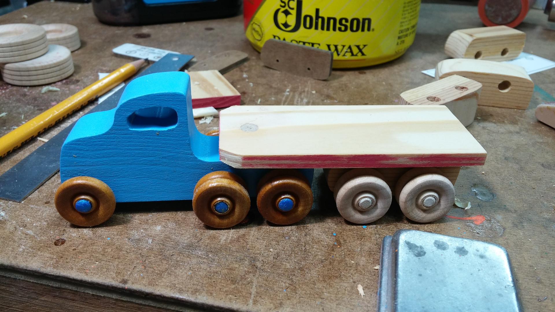 2017-04-30 20.53.22-handmade-play-pal-blue-wooden-toy-truck-tractor-trailer.jpg