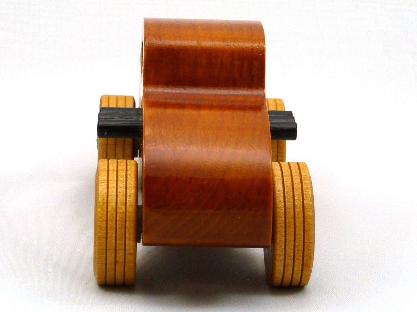 20170902-134306 Wooden Toy Car - Hot Rod Freaky Ford - 32 Deuce Coupe - Pine - Amber Shellac - Metallic Green.jpg