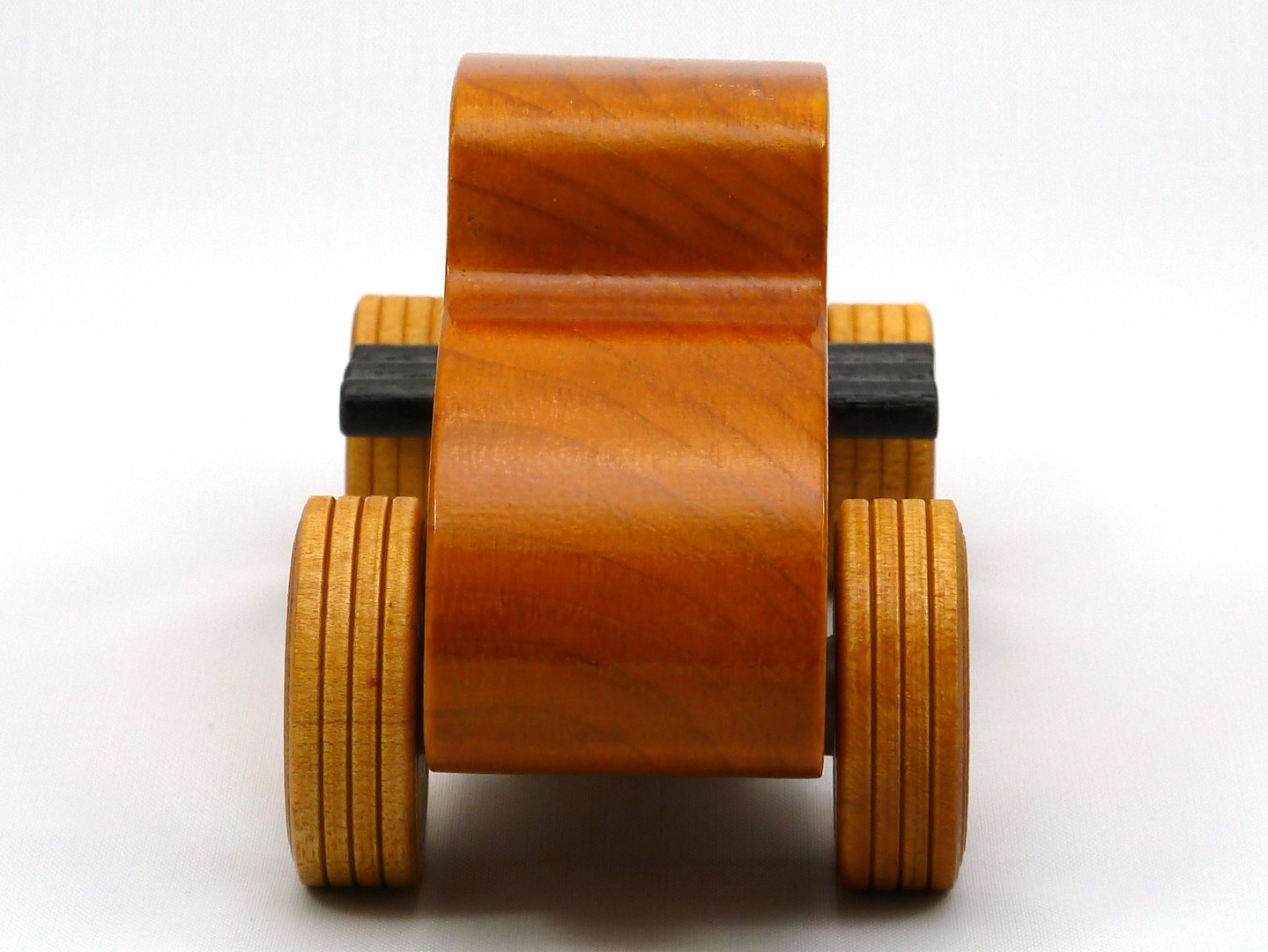 20170902-171554 Wooden Toy Car - Hot Rod Freaky Ford - 32 Deuce Coupe - Pine - Amber Shellac - Red.jpg