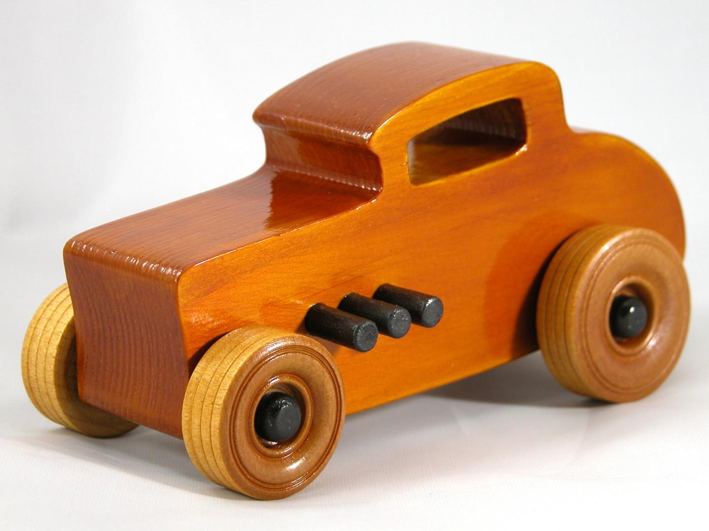 20171015-154533 Wood Toy Cars - Wooden Cars - Wood Toys - Wooden Car - Wood Toy Car - Hot Rod - 1932 Ford - 32 Deuce Coupe - Little Deuce Coupe - Roadster - Race Car.jpg