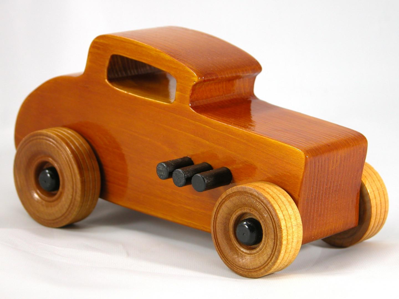 20171015-154903 Wood Toy Cars - Wooden Cars - Wood Toys - Wooden Car - Wood Toy Car - Hot Rod - 1932 Ford - 32 Deuce Coupe - Little Deuce Coupe - Roadster - Race Car.jpg