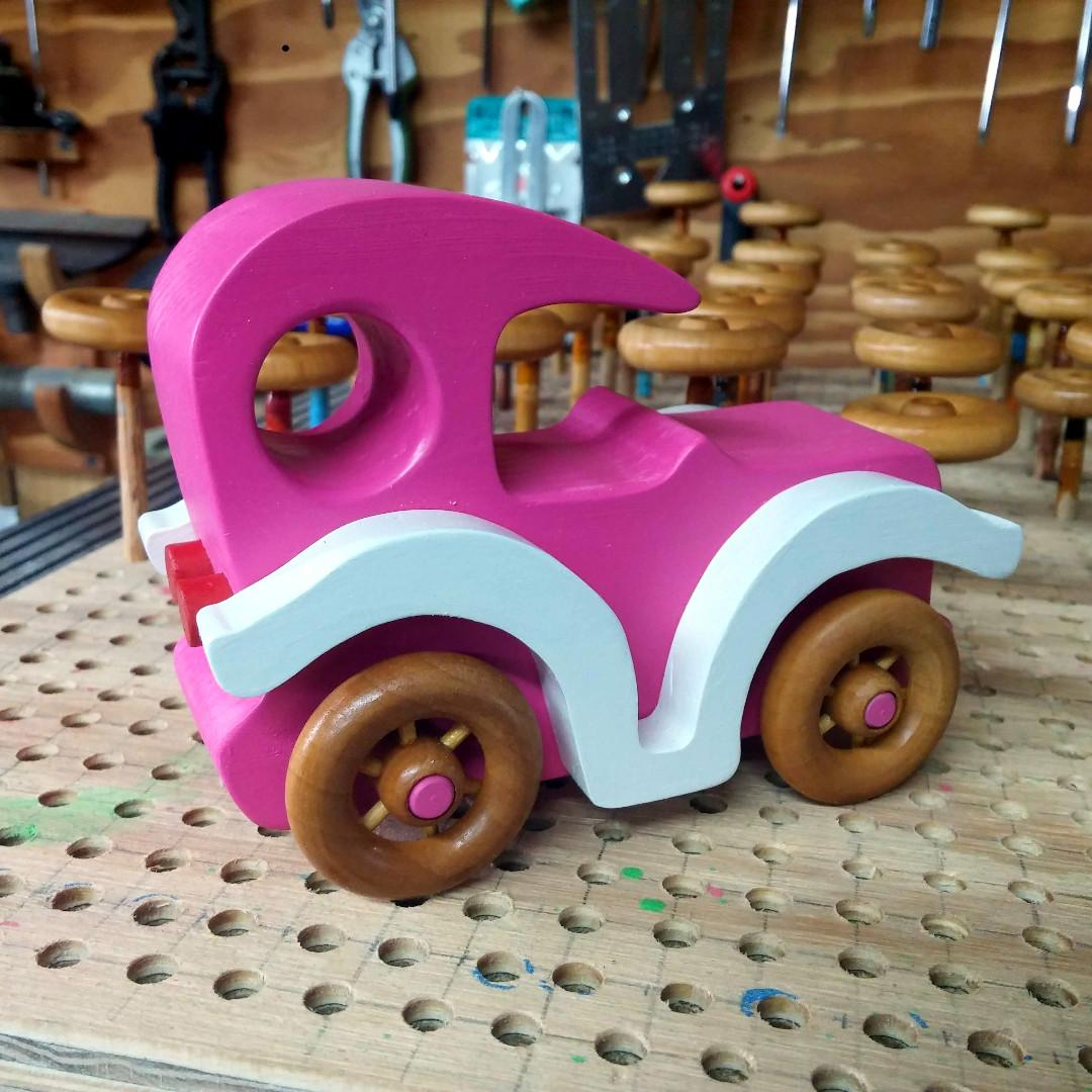 20181209_133430 handmade Wooden Toy Car Bad Bob's Custom Motors Sedan .jpg