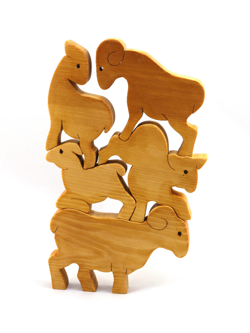 20190202-081350 Handmade Wooden Stacking Goats Puzzle For Advanced Tod.jpg