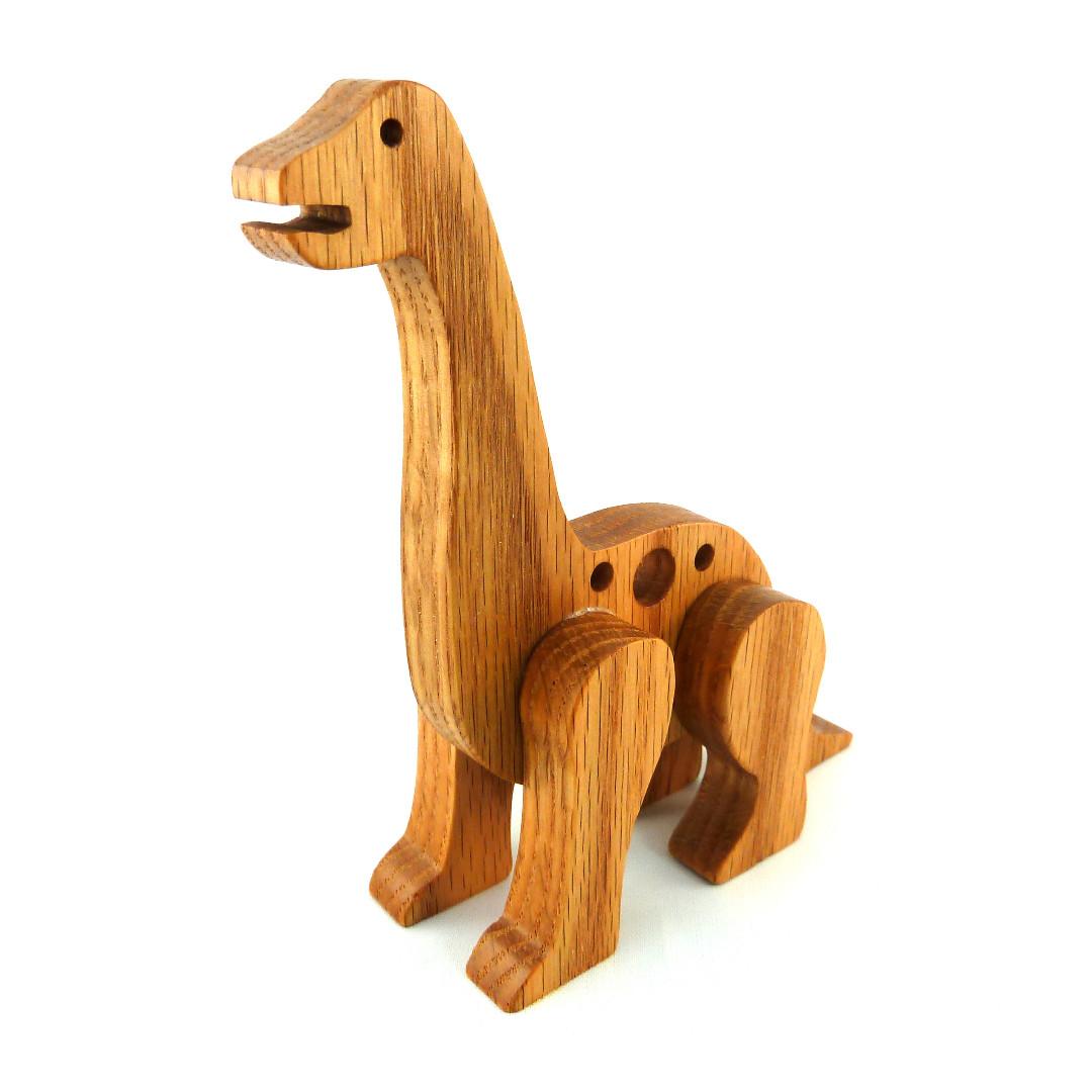 20181224-194819 Handmade Wooden Toy Dinosaur Brontosaurus Apatosaurus .jpg