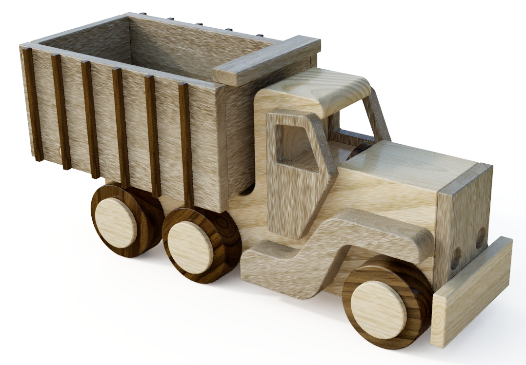 wood toy dump truck by john lewman.png