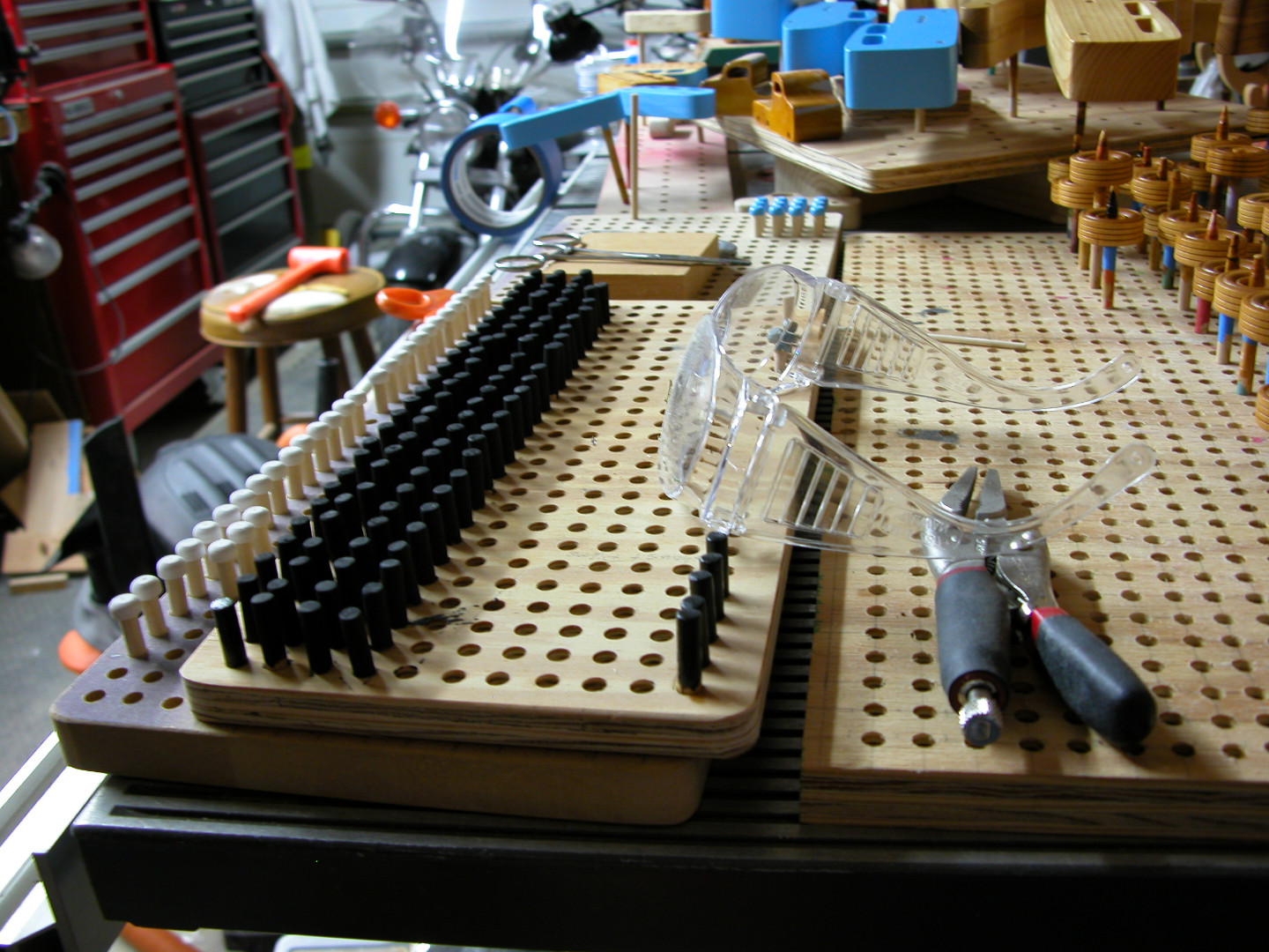 20131201-203835 004 Toymakers Shop Parts Holding Jig Holding Toy Wheel.jpg