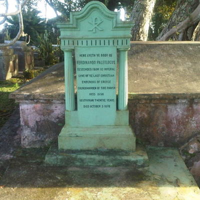 PALAEOLOGOS FAMILY DESCENDANTS_The Ferdinadus Paleologus grave in Barbados.jpg