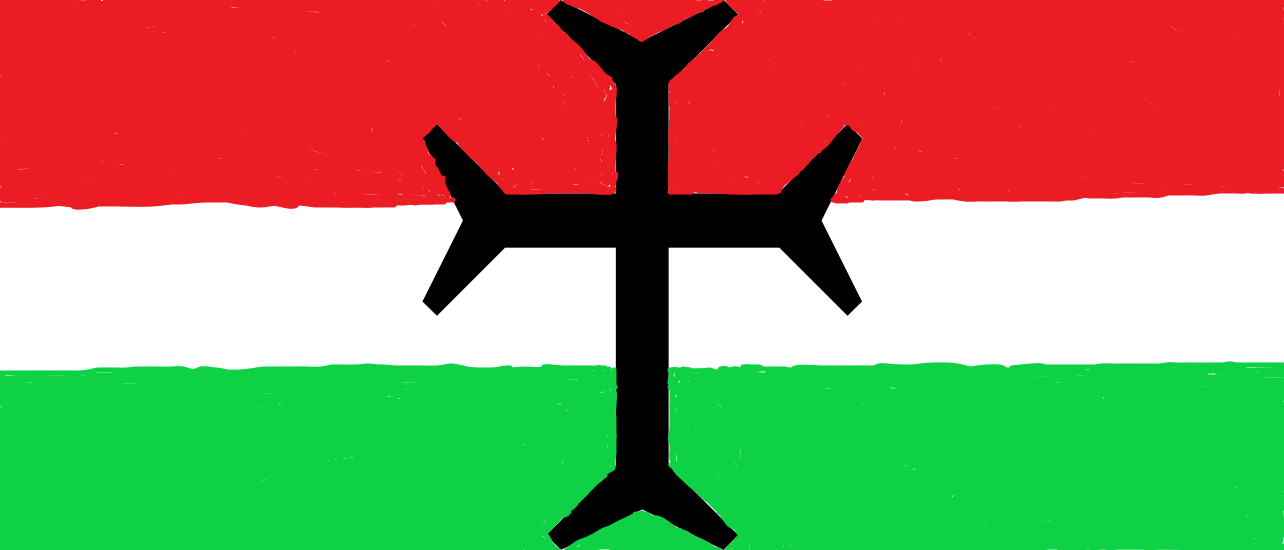 A Kurdish Christian flag.png