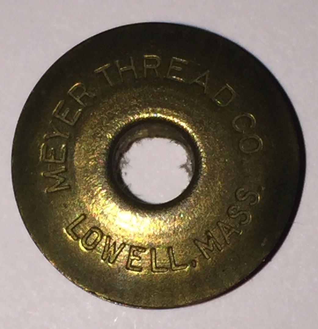 Meyer Thread Co Lowel Mass - Brass Bobbin.jpg