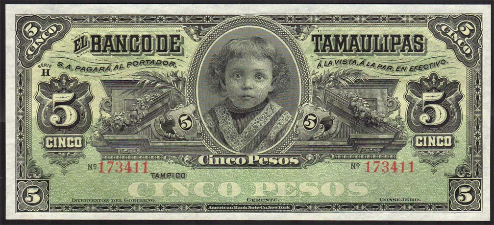 Bank of Tamaulipas 5p front.jpg