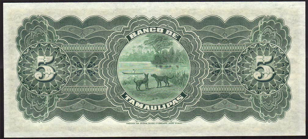 Bank of Tamaulipas 5p back.jpg