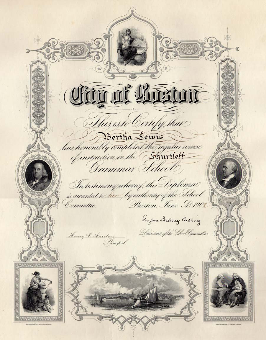 Boston ABNC grammar school diploma cu.jpg