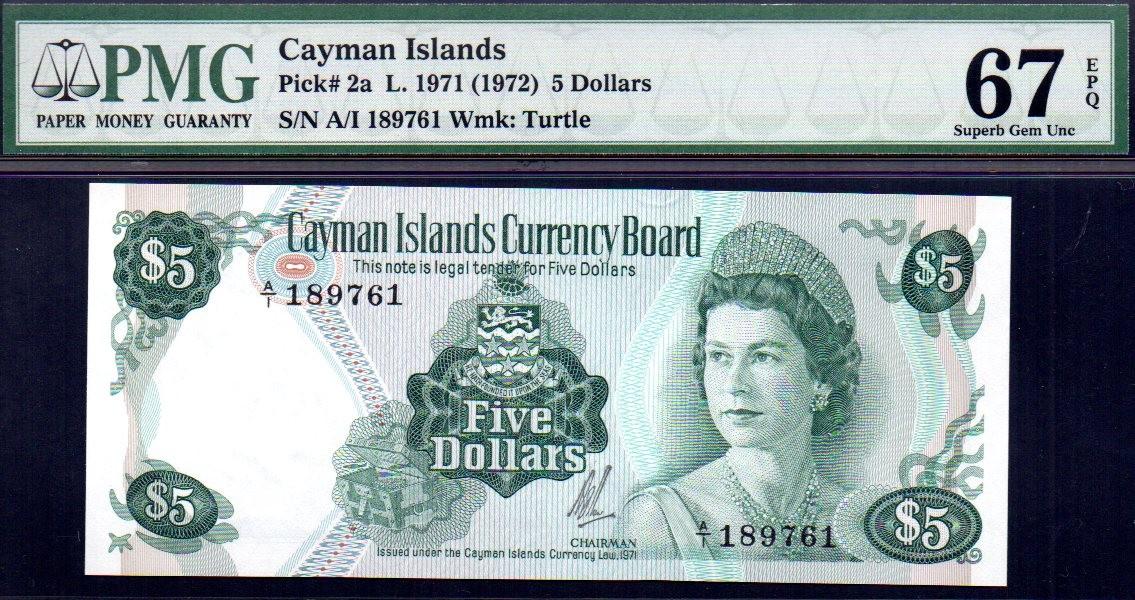 cayman islands p-2a pmg67epq f001.jpg