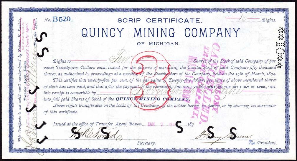 Quincy Mining scrip cert.jpg