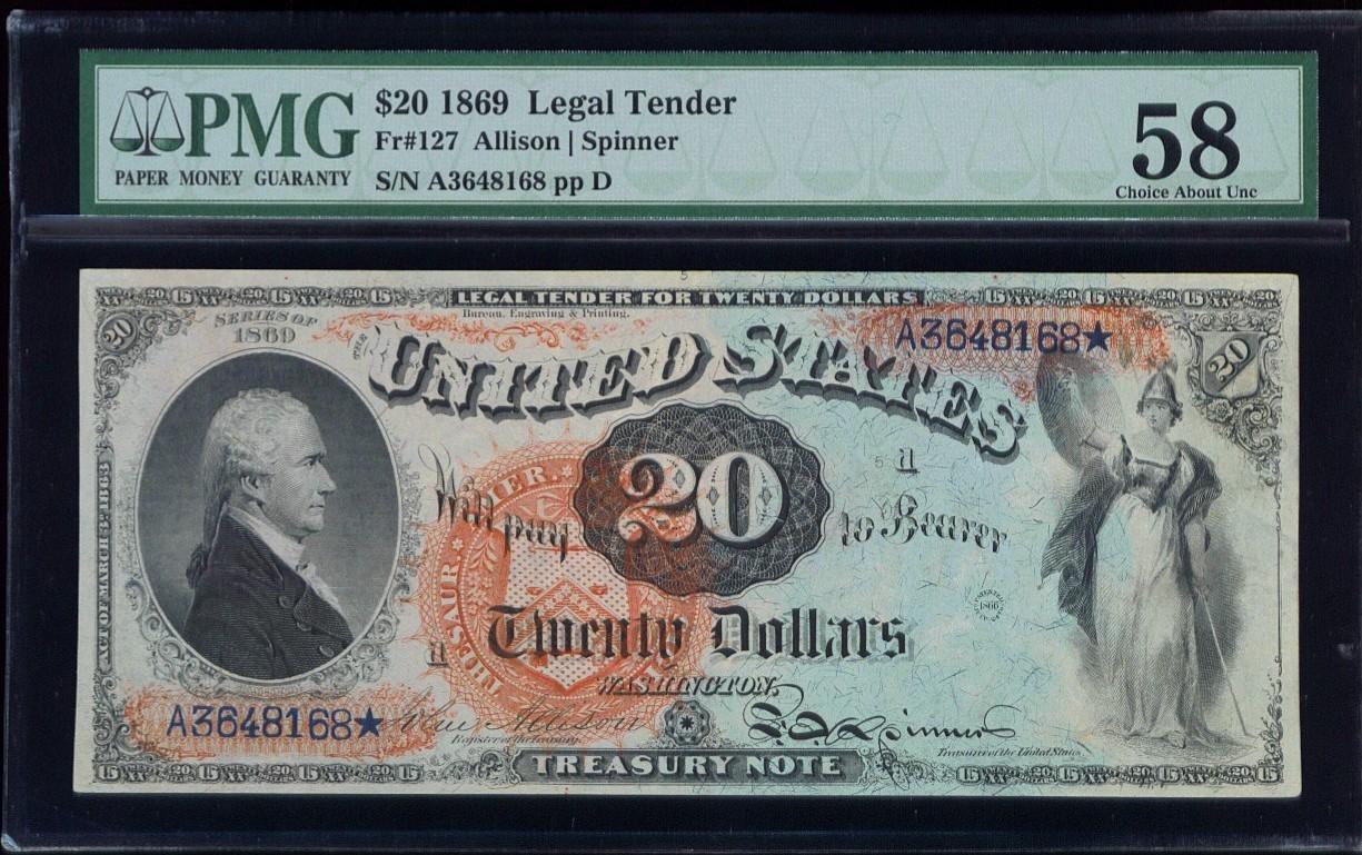 1869 $20 FR-127 PMG CH AU58.jpg