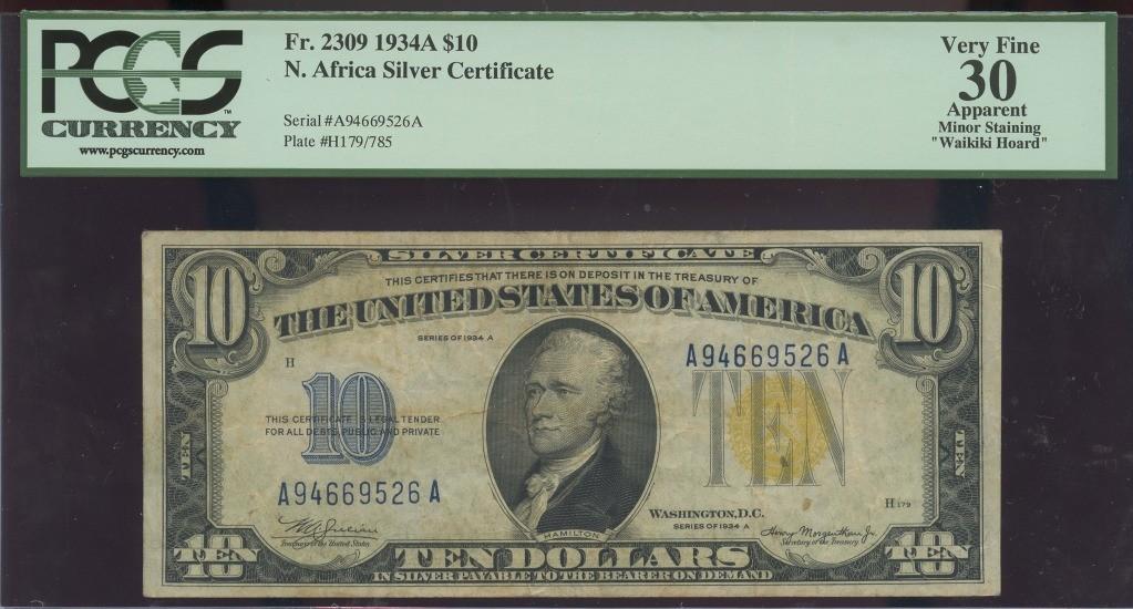 10 1934A NORTH AFRICA PCGS VF30 WAIKIKI HOARD $44.58 obv.jpg