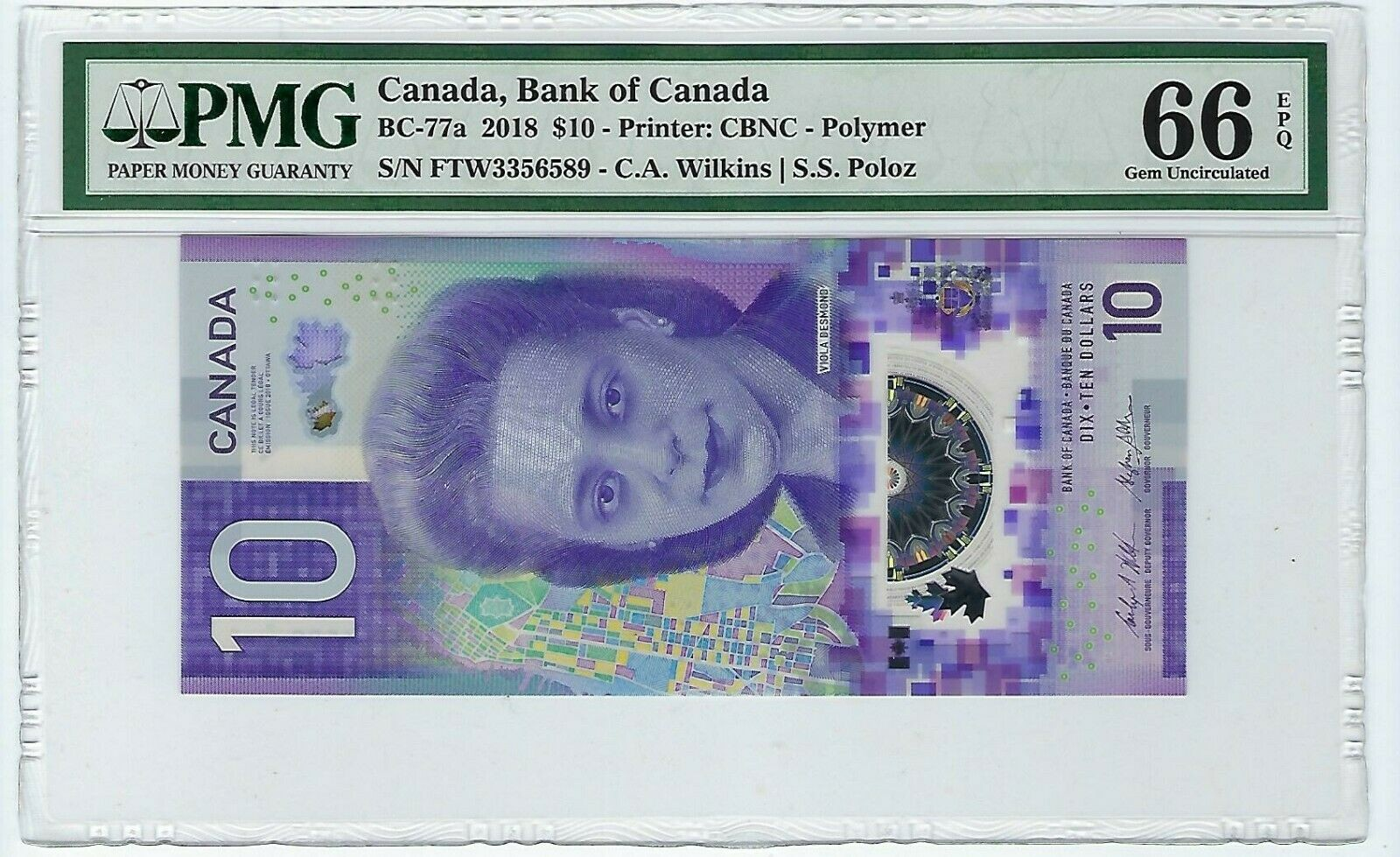CANADA 10 DOLLARS ND 2018 P NEW POLYMER GEM UNC PMG 66 EPQ obv.jpg