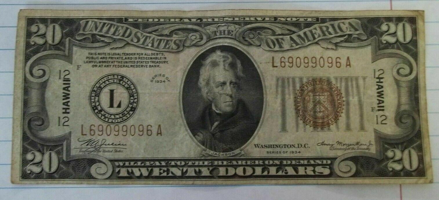 1934 Hawaii $20front.jpg
