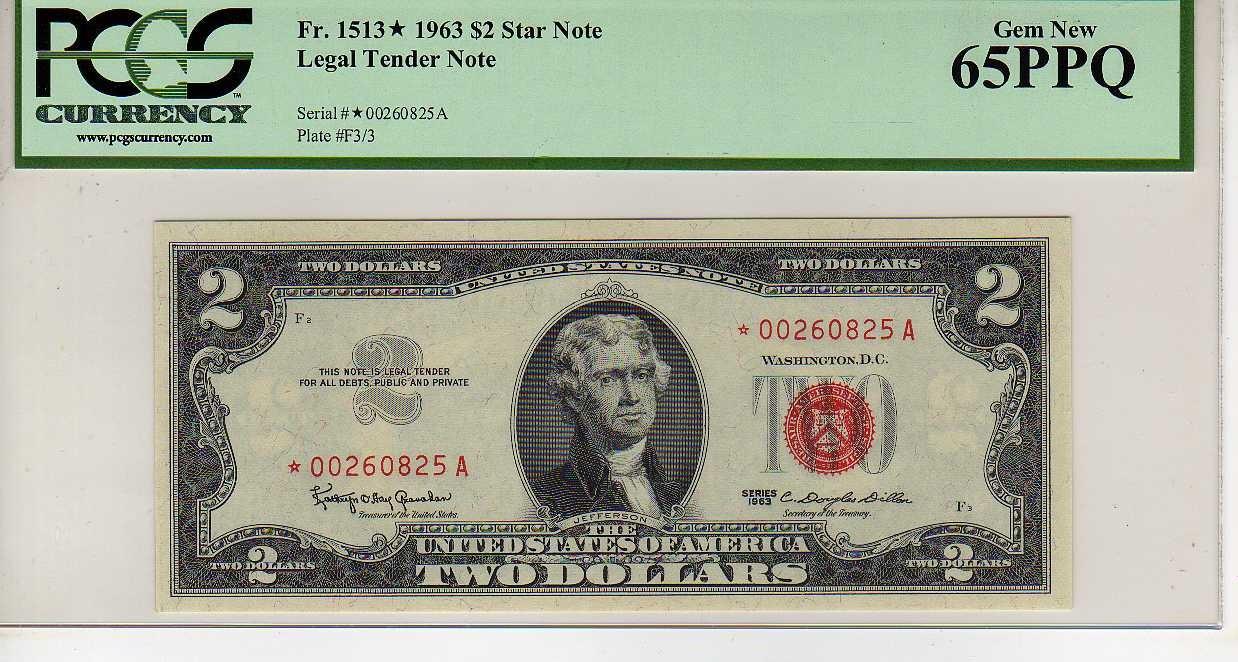 Fr.1513 $2 1963 STAR Legal Tender PCGS GEM 65 PPQ $35.02 obv.jpg