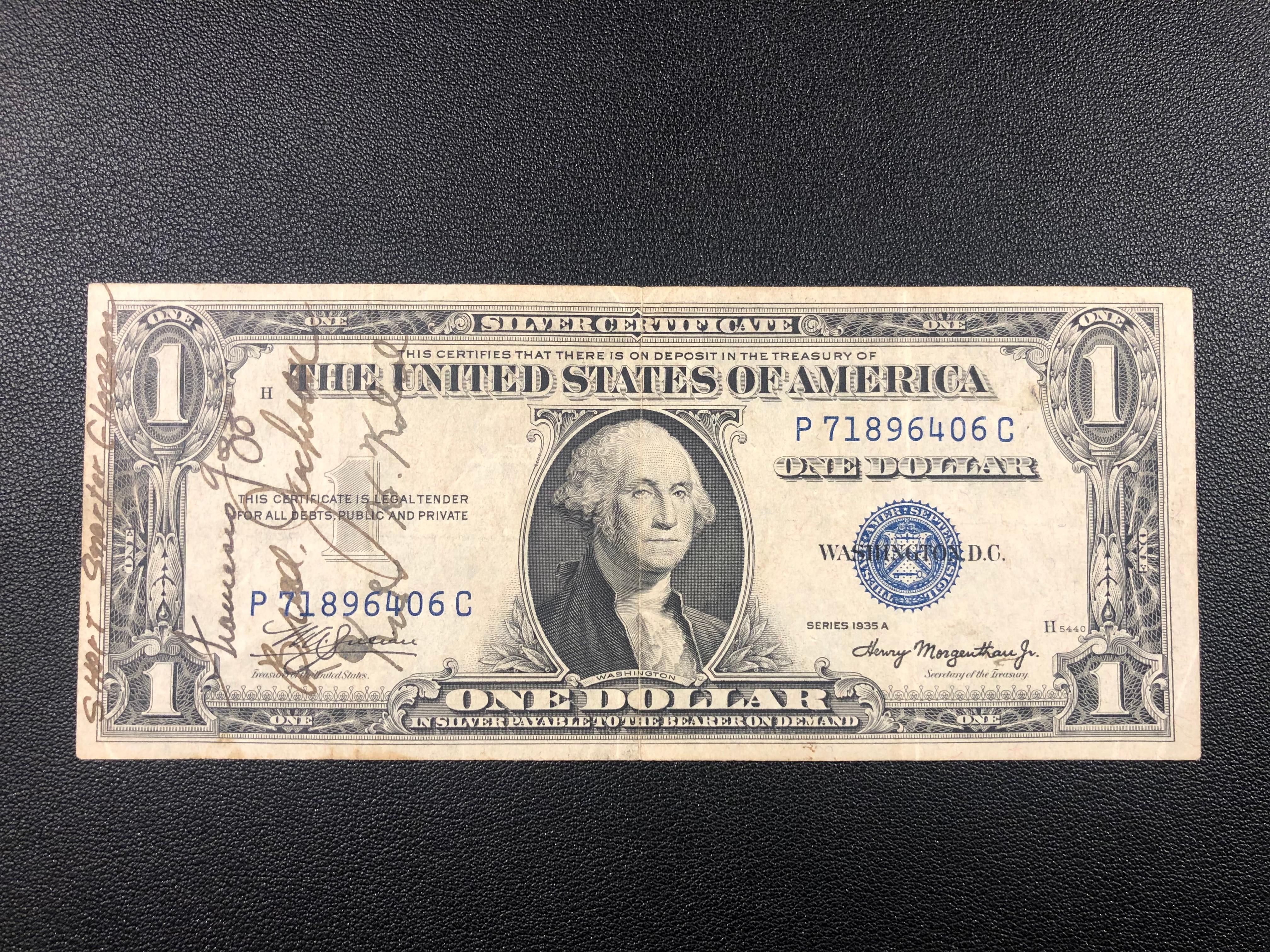 Short Snorter $1 Silver 1935A P71896406C.jpg