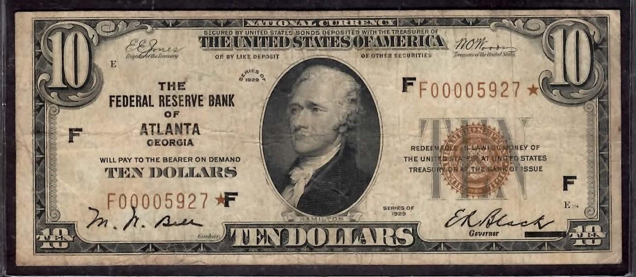 Click image for larger version - Name: F-1860-F $10 Atlanta Star - Front.jpg, Views: 25, Size: 257.08 KB
