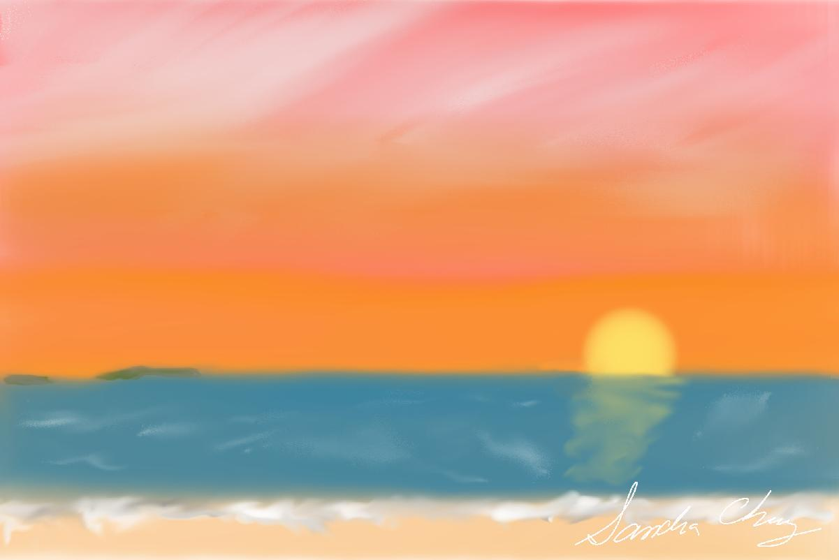 Sunset at Bathers Beach - Fremantle W.A..jpg