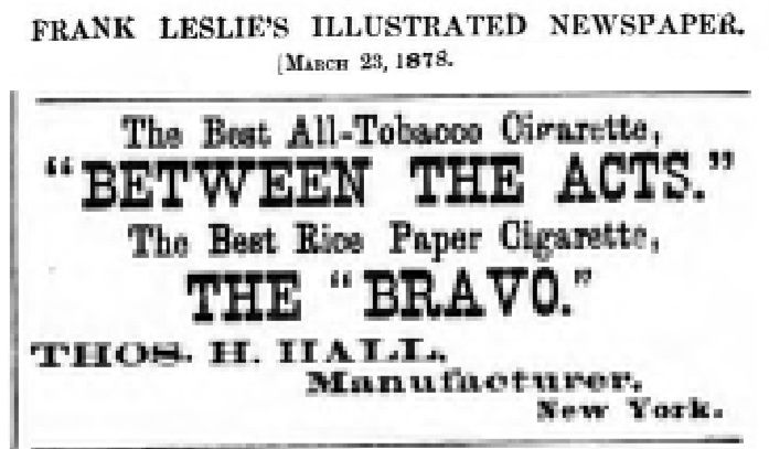 Bravo advert - 23 March 1878.jpg