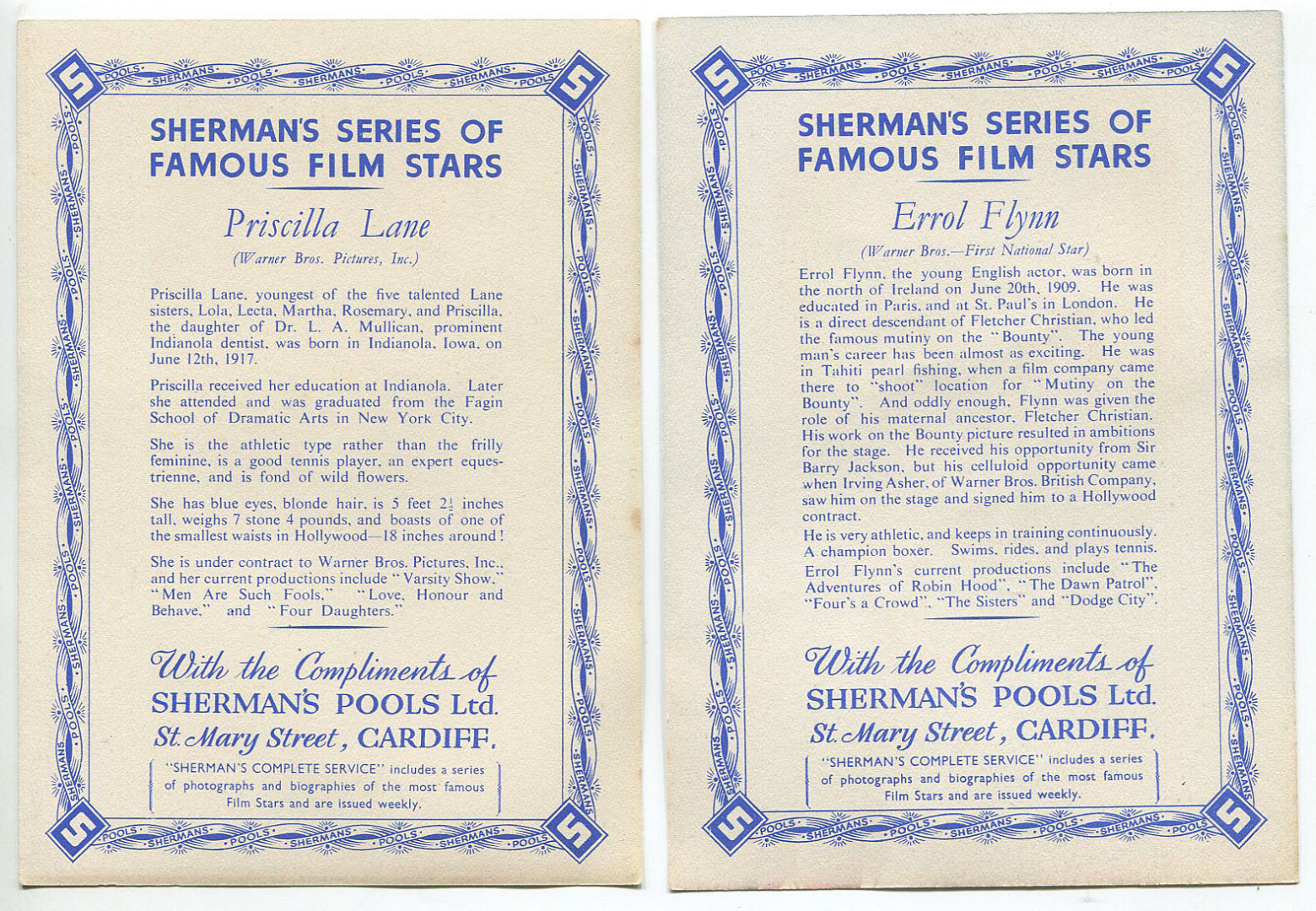 Famous Film Stars - Shermans Pools 003.jpg