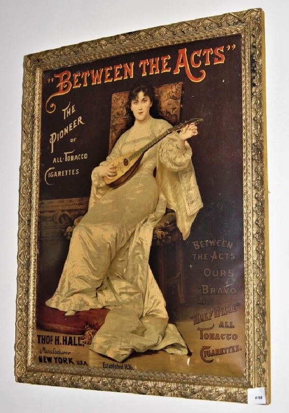 Between the Acts framed poster - June 2019 auction - plus Ours and Hal.jpg