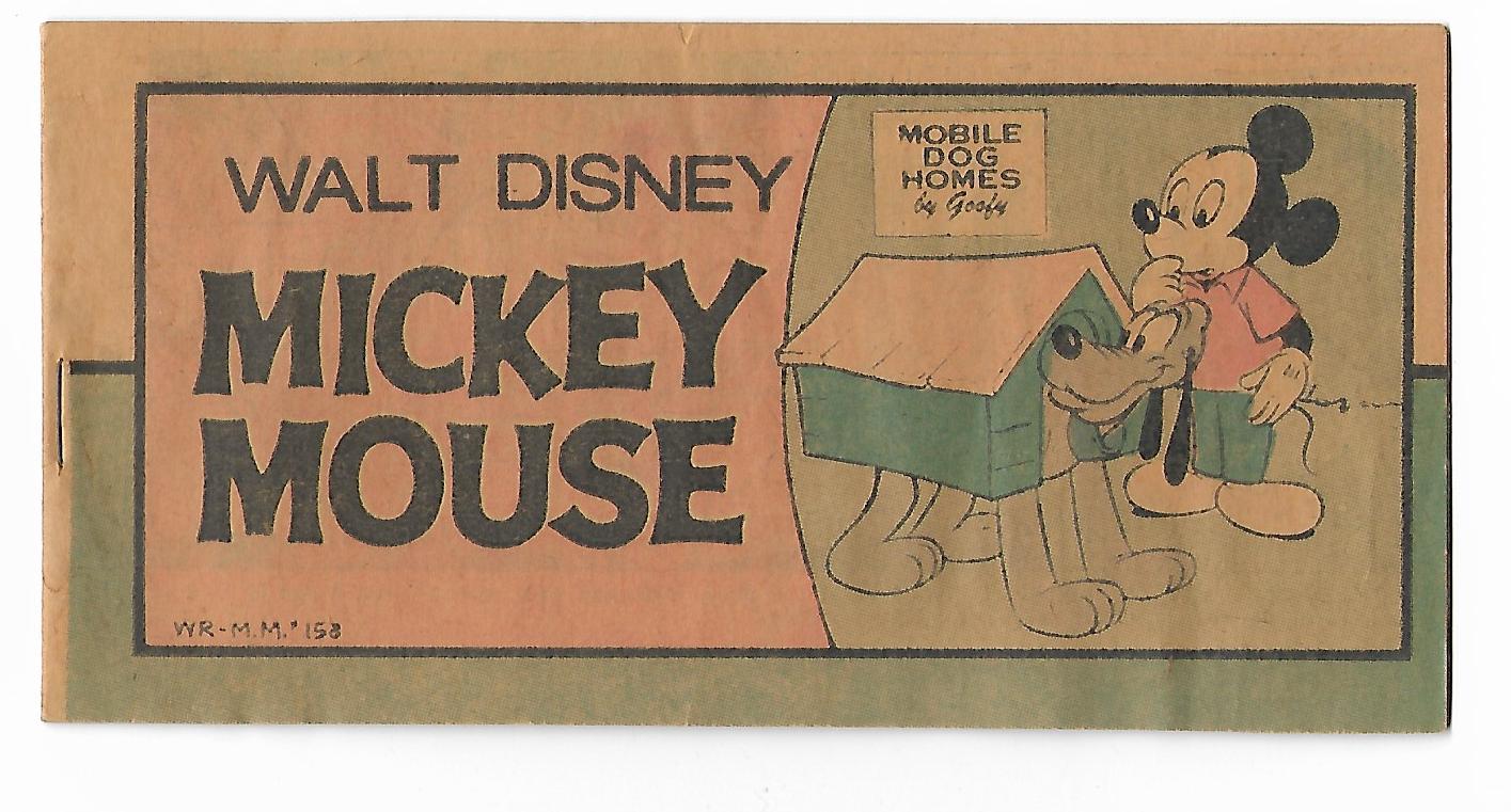 MICKEY MOUSE MINI COMIC BOOK #158--F 1976.jpg