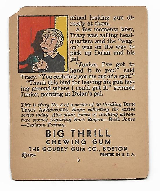 DICK TRACY BIG THRILL BOOKLET --B- VAULT OF DEATH 1934 #3.jpg