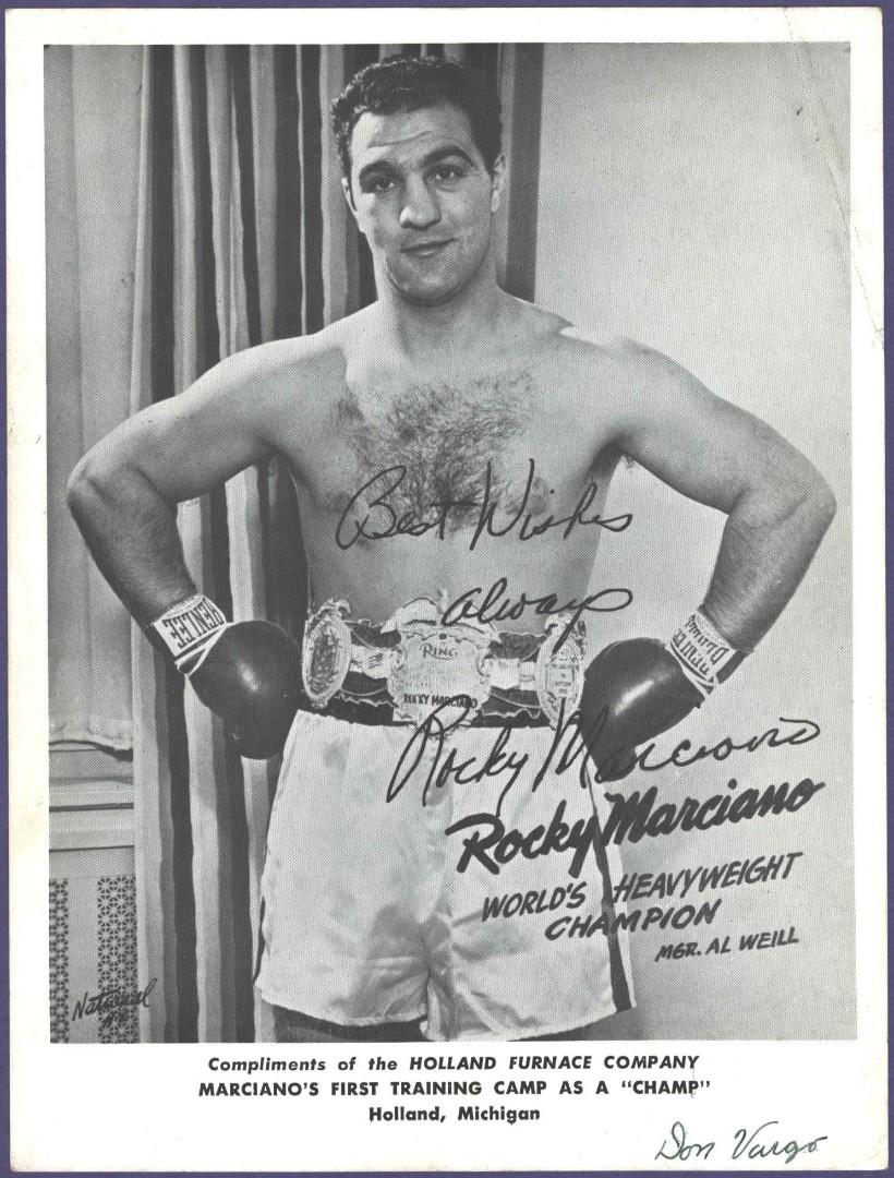 1951 Marciano Training Camp card 5 x 7.jpg
