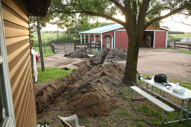 Name: driveway trench electric to barn july3 IMGL0536 copy.jpg, Views: 222, Size: 148.64 KB