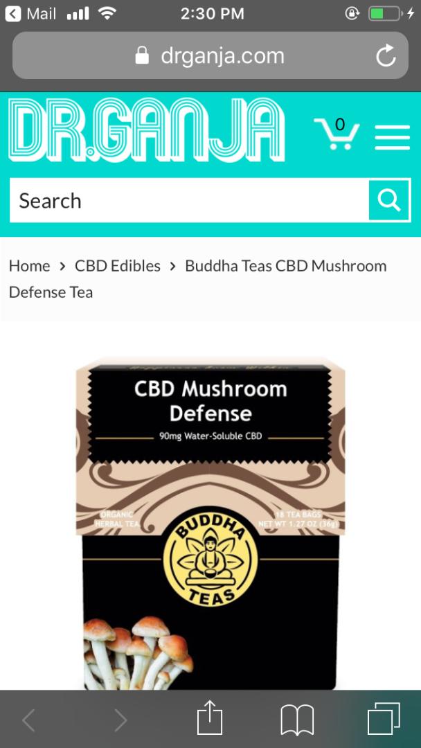 Buddha Teas CBD Mushrooms Defense Tea.png
