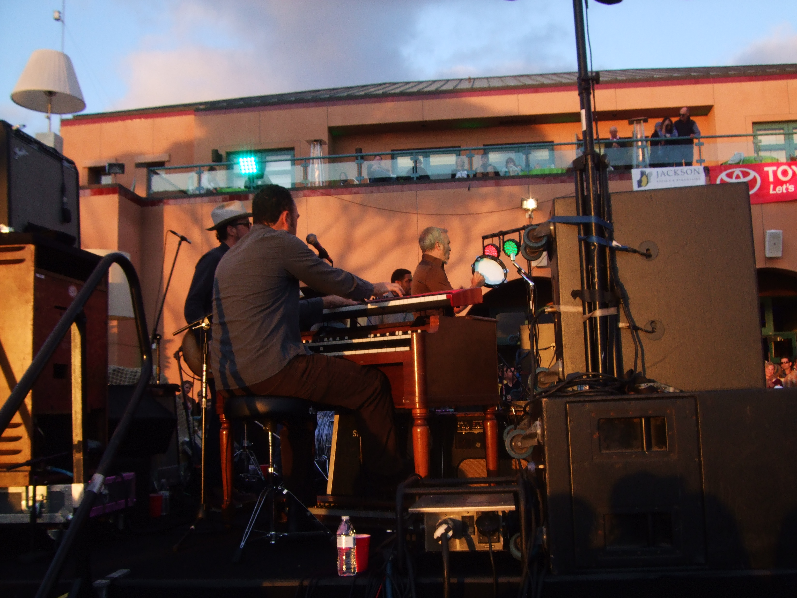Side Stage During Sunset.jpg