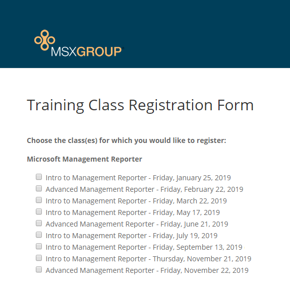 2019 Management Reporter Training Class Schedule.png