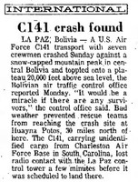 Click image for larger version - Name: C-141 report Long Beach Independent 20 Aug 74 pg2.jpg, Views: 51, Size: 108.77 KB
