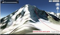 Click image for larger version - Name: Summit from west spine.jpg, Views: 42, Size: 175.83 KB