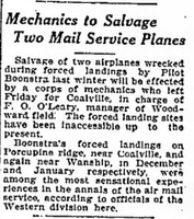 Click image for larger version - Name: Mail Plane salvage report Salt Lake Telegram 23 Jun 1923 pg2.jpg, Views: 11, Size: 66.50 KB