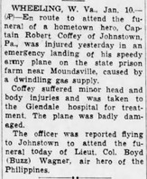 Click image for larger version - Name: P-40 9 Jan 43 Robert Coffey [Altoona tribune 11 Jan 43 pg2].jpg, Views: 9, Size: 64.30 KB